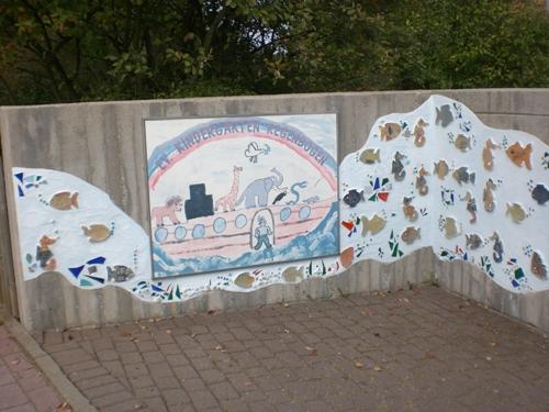 neu gestalteter Eingang September 2009